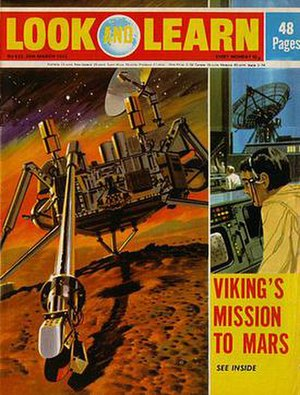 Look and Learn - Look and Learn cover page from 25 March 1972