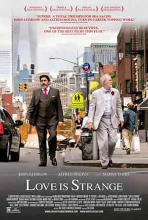 Love Is Strange (film) - Film poster