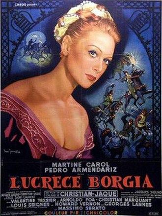 Lucrèce Borgia - Image: Lucrèce Borgia 1953 film