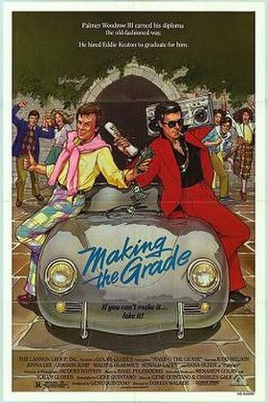 Making the Grade (film) - Theatrical release poster