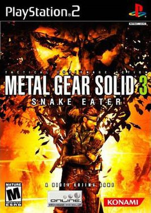 Metal Gear Solid 3: Snake Eater - North American cover art