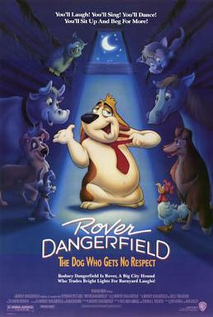 Rover Dangerfield - Theatrical release poster