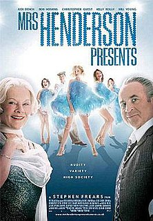 <i>Mrs Henderson Presents</i> 2005 film by Stephen Frears
