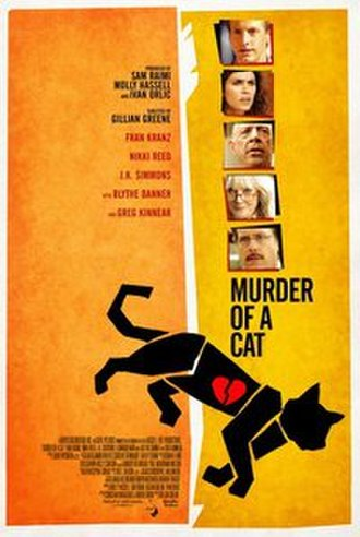 Murder of a Cat - Theatrical release poster