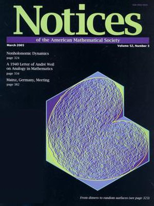 Notices of the American Mathematical Society - March 2005 issue