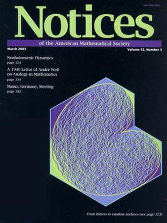 Notices of the American Mathematical Society - Image: NAMS