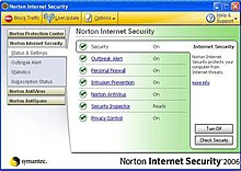 norton blocking web pages