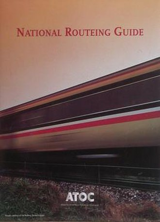 British railway technical manuals - A copy of the 2002 edition of the National Routeing Guide