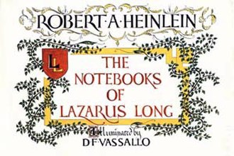 The Notebooks of Lazarus Long - Cover for The Notebooks of Lazarus Long