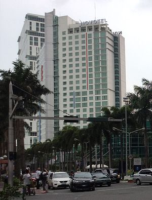 Novotel Manila Araneta Center - Image: Novotel Manila Araneta Center