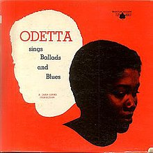 odetta sings ballads and blues