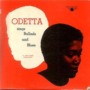 Odetta Sings Ballads and Blues - Image: Odetta Sings Ballads and Blues original cover 1956