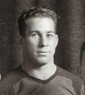Omer LaJeunesse - LaJeunesse cropped from 1931 Michigan football team photograph
