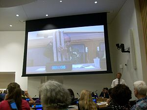 Two Row Wampum Treaty - Oren Lyons describes the Two Row Treaty at the UN, August 9, 2013.