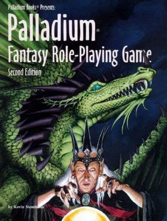 Palladium Fantasy Role-Playing Game - Image: Palladium Fantasy Role Playing Game