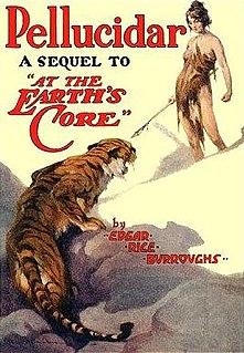 <i>Pellucidar</i> (novel) 1923 Book by Edgar Rice Burroughs