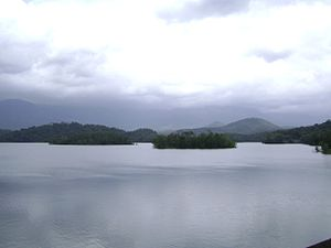 Peppara Wildlife Sanctuary - Image: Peppara Reservoir