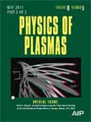 Physics of Plasmas - Image: Phys Plasmas Cover