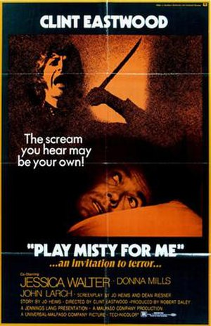 Play Misty for Me - Theatrical release poster