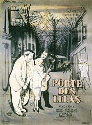 Gates of Paris (film) - Image: Porte des Lilas Poster