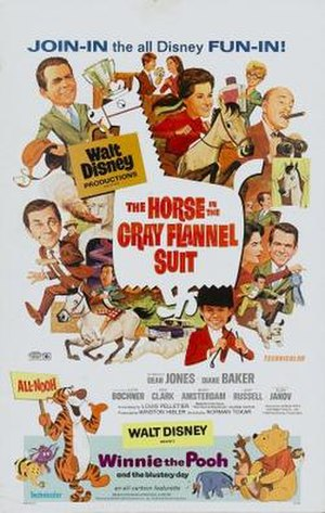 The Horse in the Gray Flannel Suit - Image: Poster of the movie The Horse in the Gray Flannel Suit