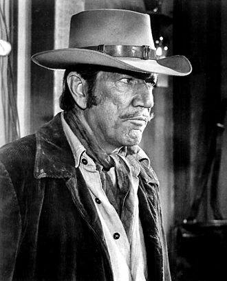 Richard Boone - Boone in 1967 film Hombre