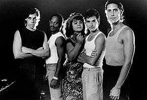 Romeo Void - Romeo Void (left to right): Frank Zincavage, Aaron Smith, Debora Iyall, Peter Woods, Benjamin Bossi