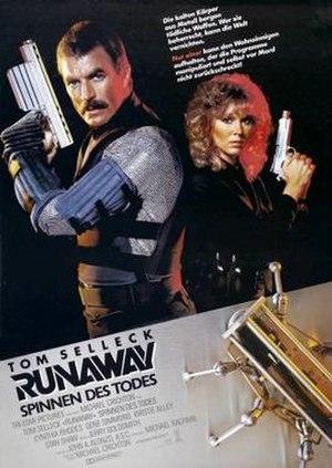 Runaway (1984 film) - Runaway German movie poster