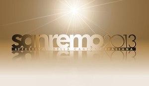 Sanremo Music Festival 2013 - Image: Sanremo Music Festival 2013 logo