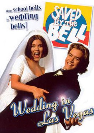 Saved by the Bell: Wedding in Las Vegas - DVD cover