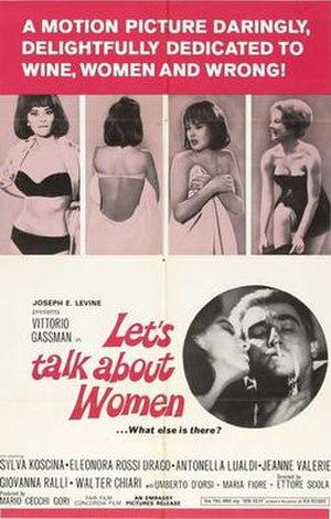 Let's Talk About Women - Image: Se permettete parliamo di donne