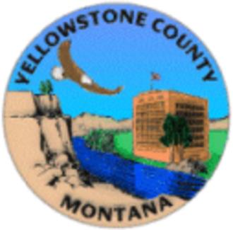Yellowstone County, Montana - Image: Seal of Yellowstone County, Montana