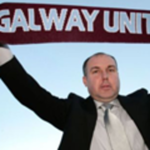 Sean Connor - Connor as Galway United manager.