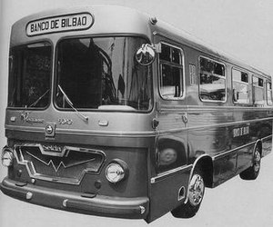 Seida -  Mobile bank office for Banco de Bilbao in a bus body built by Seida in 1961 over a Pegaso 5040 chassis