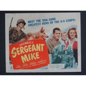 Sergeant Mike - Lobby card for the film