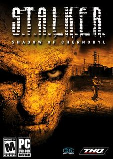 <i>S.T.A.L.K.E.R.: Shadow of Chernobyl</i> first-person shooter survival horror video game developed by GSC Game World