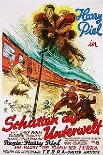<i>Shadows of the Underworld</i> 1931 film by Harry Piel