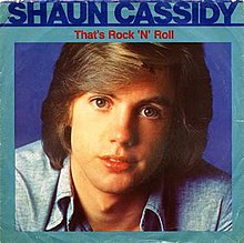 Shaun Cassidy, That's Rock 'n' Roll 45 RPM cover.jpg