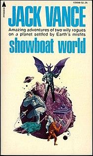 <i>Showboat World</i> novel by Jack Vance