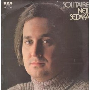 Solitaire (Neil Sedaka album) - Image: Solitaire (album) cover