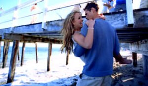 Sometimes (Britney Spears song) - Spears with her love interest in the music video.