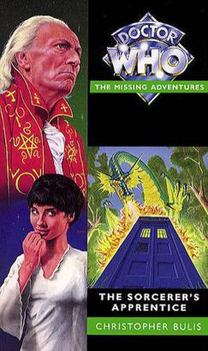 The Sorcerer's Apprentice (Doctor Who novel) - Cover Art