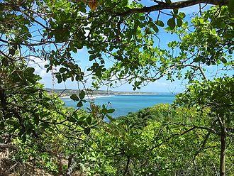 Cabo de Santo Agostinho - View from Suape, looking north towards Recife