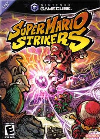 Super Mario Strikers - North American box art