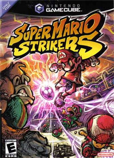 Picture of a game: Super Mario Strikers