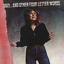 Suzi Quatro Suzi...and Other Four Letter Words album cover.jpg