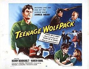 Horst Buchholz - Image: Teenage Wolfpack Film Poster