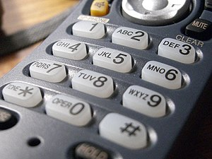 North American Numbering Plan - Letters of the alphabet are mapped to the digits of the telephone dial pad.