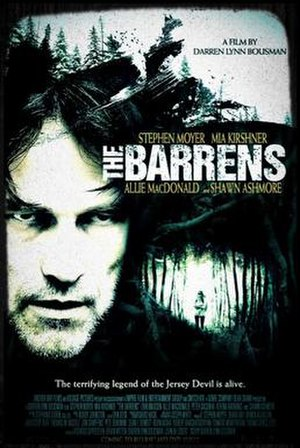 The Barrens (film) - Home video release poster