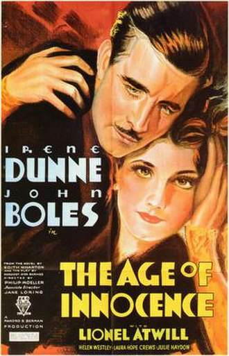 The Age of Innocence (1934 film) - Image: The Age of Innocence (1934 film)
